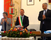 Frisa: insediato il nuovo consiglio comunale con il neo eletto sindaco Nicola Labbrozzi