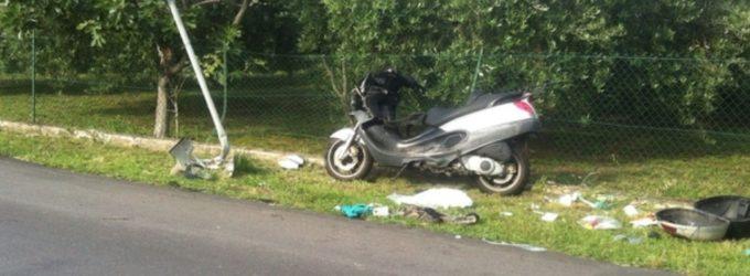 Casalbordino: finisce con lo scooter contro un palo, muore operaio Sevel