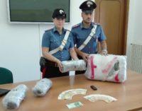 Corriere della droga albanese arrestato a Francavilla al mare con 8 chili di marijuana