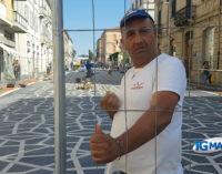Corso presentoso a Lanciano: terminato il primo blocco, getto di calcestruzzo per il massetto del secondo blocco