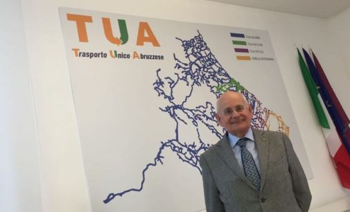 D'Alfonso conferma Tonelli alla presidenza di Tua, gestione valida
