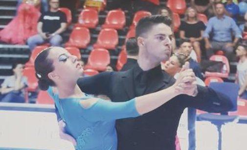 Danza sportiva: Irene Tomassini e Gianluca Ciancarella laureati campioni d'Italia a Rimini