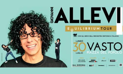 Vasto: lunedì 30 luglio Giovanni Allevi con Equilibrium Tour Summer 2018