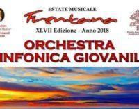 Doppio concerto per l'Orchestra Sinfonica Giovanile a Ortona e Lanciano, solista Michele Di Toro
