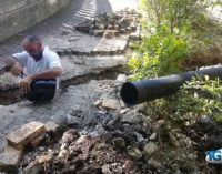Lavori alla villa comunale di Lanciano, nuova vita per il laghetto dei cigni