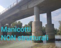 Ponte Nuovo sul Sangro: i manicotti fuori asse non hanno funzione statica