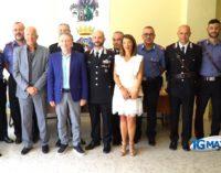 Atessa: arrivano 20 carabinieri a rafforzare la compagnia e le stazioni