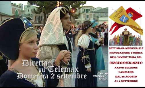 Diretta Telemax del Mastrogiurato domenica 2 settembre