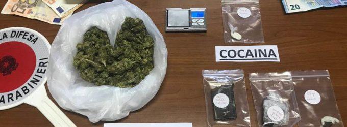 Droga: donna di Torino di Sangro arrestata in Salento con cocaina e mdma