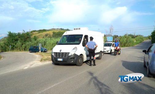 Ponte Nuovo chiuso: lunedì riaprono le fabbriche in Val di Sangro, pronta la segnaletica da posizionare per deviare il traffico