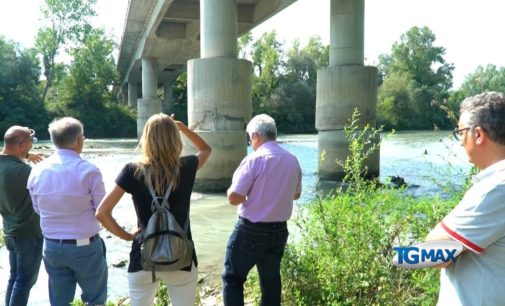 Ponte Nuovo chiuso per tre mesi, il sopralluogo degli ingegneri della Provincia di Chieti