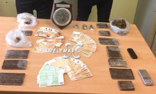 Perano: arrestato con un chilo e mezzo di droga