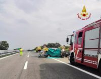 Vasto sud: indicente mortale sulla A14, due vittime e due persone ferite