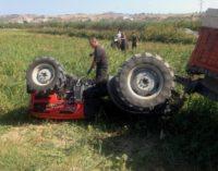 San Salvo: trattore si ribalta, muore 79enne