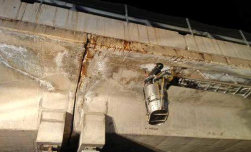 A24 Teramo – Roma: cadono pezzi di calcestruzzo dal Viadotto San Giacomo all'Aquila