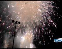Feste di Settembre, applausi per i fuochi pirotecnici della seconda serata
