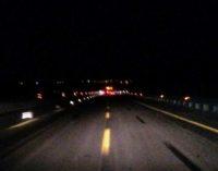 A14: chiusura notturna tra Ortona e Pescara sud, in entrambe le direzioni per questa notte