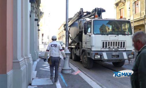 Ex Modernissimo: realizzato il solettone in cemento armato, chiusa la fase d'urgenza