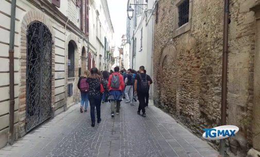 Gli studenti di Montesilvano alla scoperta della Lanciano medievale