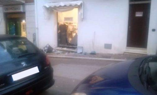 Assalto al bancomat a Tollo: bottino 18 mila euro nella filiale di Ubi Banca