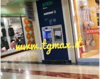 Svaligiato il bancomat al centro commerciale Lanciano, da quantificare il bottino