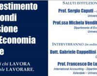 Fondi pensione, se ne parla all'Università D'Annunzio martedì 27 novembre