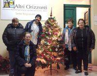 Rubato l'albero di Natale all'associazione Altri orizzonti di Lanciano