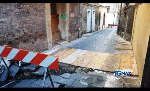Lanciano: lavori fermi in via Corsea, residenti e commercianti premono