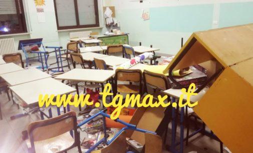 Lanciano, vandali alla scuola di Marcianese