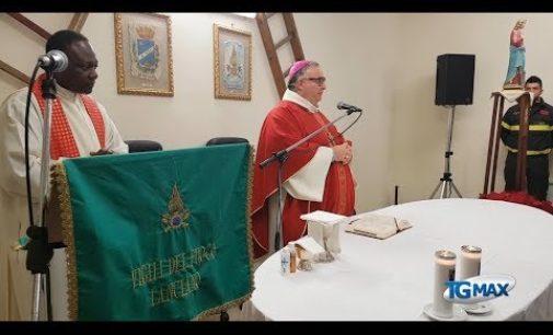 I vigili del fuoco di Lanciano celebrano la patrona Santa Barbara