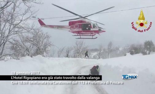 Rigopiano: la telefonata tra carabinieri 112 e Prefettura di Pescara, ma l'hotel era stato già travolto dalla valanga