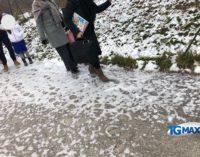 """Lanciano: ghiaccio e scivoloni alla scuola primaria """"Carabba"""", il vicesindaco Verna si scusa"""