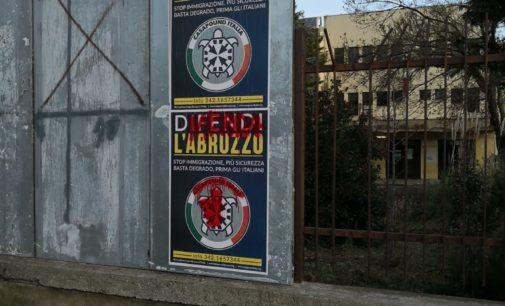 Lanciano: Casapound denuncia atti di vandalismo ai manifesti elettorali