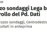 Elezioni regionali: sondaggio di Affari Italiani tira la volata al centrodestra