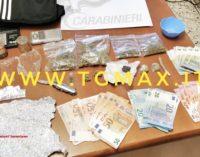 Spaccio di droga a Castel frentano, denunciati due giovani
