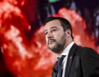 Salvini torna in Abruzzo, mercoledì 30 gennaio sarà a Ortona