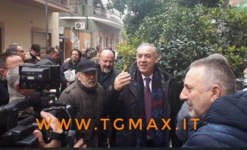 Legnini inaugura la sede elettorale a Pescara e presenta le tre liste legate alla sua candidatura