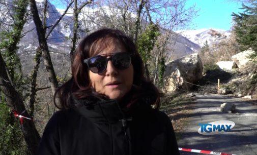 Frana a Palombaro: dopo il sopralluogo tecnico, affidati i lavori in urgenza