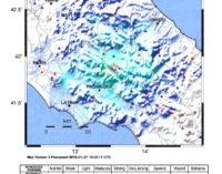 Terremoto magnitudo 4.1 Mw, epicentro a Collelongo