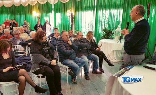 Legnini con gli imprenditori della pasta di Fara San Martino e della Val di Sangro