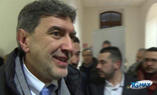 Marco Marsilio a Lanciano: l'Udc è fuori dalla maggioranza