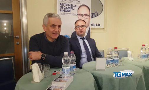 Quagliariello a Lanciano presenta Di Campli Finore: Idea torna in campagna elettorale con Marsilio