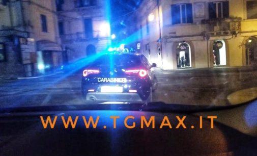 Vasto: blitz dei carabinieri in centro, arrestato evaso