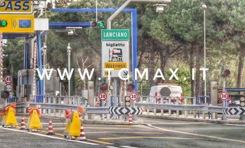 Incidente in A14, chiuso il tratto Val di Sangro – Lanciano
