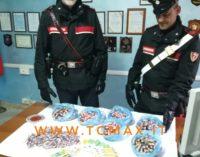 Altino: nonna e nipote fermate con 8 kg di hashish, 3 arresti