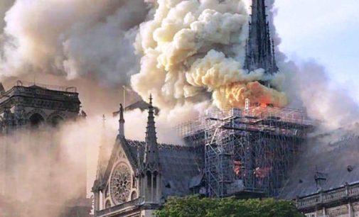 Incendio alla cattedrale di Notre-Dame, da L'Aquila una Pasqua di preghiera