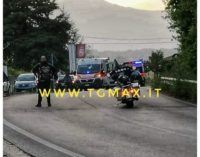 Casoli, incidente stradale tra auto e moto