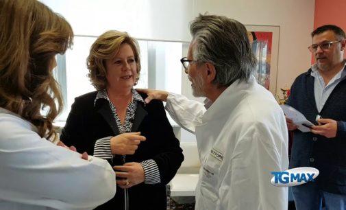 """Assessore Verì in visita all'ospedale di Lanciano, nessunacertezzasul nuovo """"Renzetti"""""""