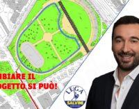 Central Park: la Lega chiede di rivedere il progetto