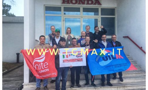 Atessa: verso il coordinamento del Movimento sindacale europeo della Honda